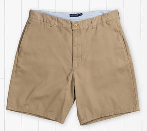 "Southern Marsh Men's Regatta Shorts 8"" Flat Front-Field Khaki"