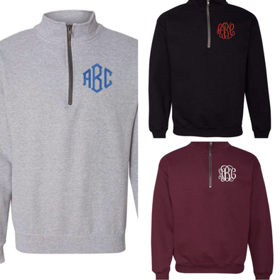 Monogrammed Cadet Pullover - Monograms By Kim Boutique & Gifts