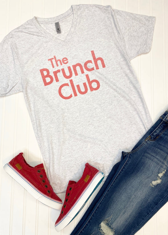 The Brunch Club Graphic Tee - Monograms By Kim Boutique & Gifts
