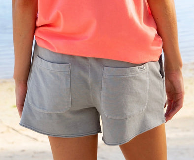 Southern Marsh Jamie Seawash Shorts - Light Gray