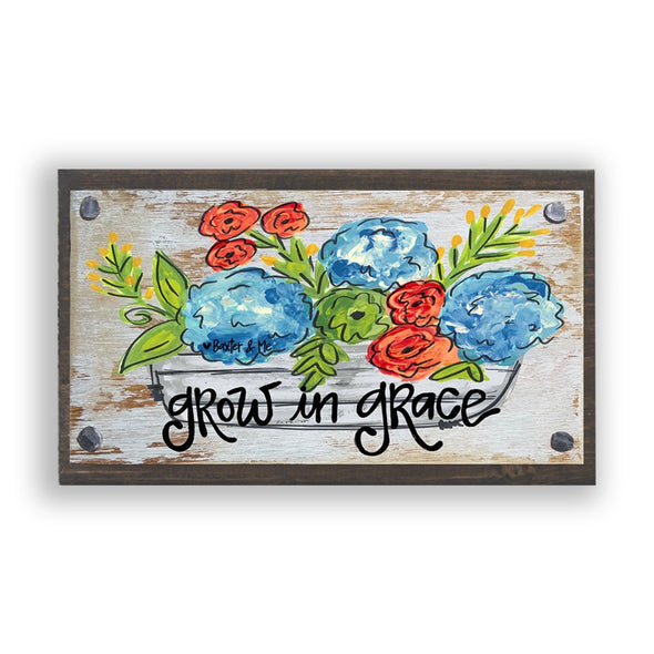 Grow In Grace Happy Block - Monograms By Kim Boutique & Gifts