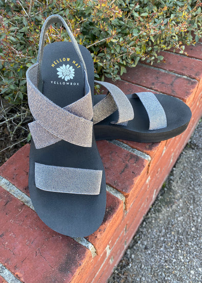 YellowBox Bunkie Sandals--Pewter