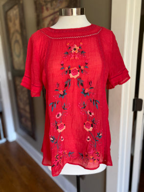 Some Kind of Wonderful Embroidered Top - Monograms By Kim Boutique & Gifts