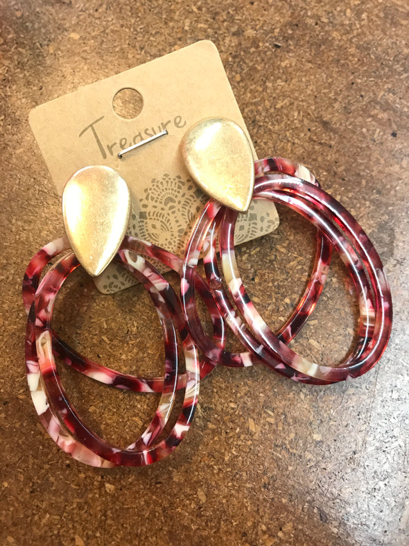 Earrings 113 - Monograms By Kim Boutique & Gifts