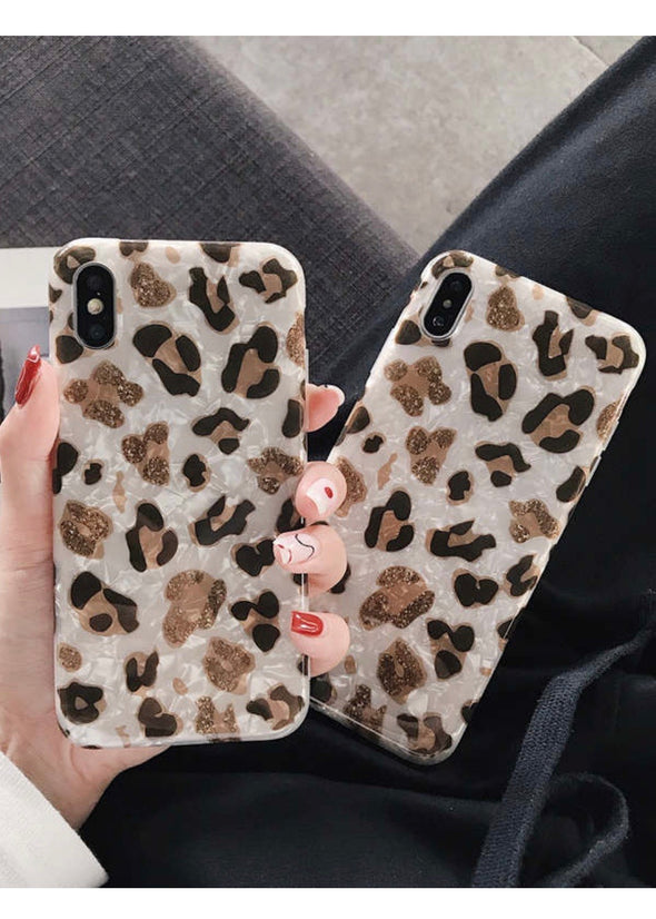 Leopard iPhone case - Monograms By Kim Boutique & Gifts