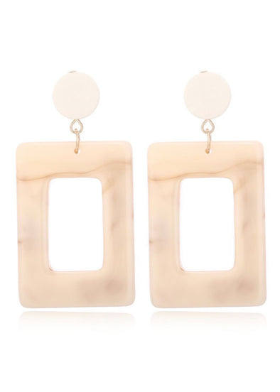 Earrings 157 - Beige - Monograms By Kim Boutique & Gifts