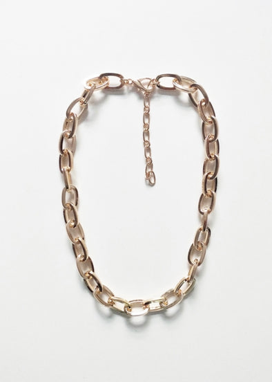 "Chunky Gold Chain 16""-18"" Necklace"
