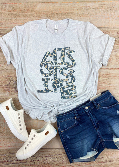 Mississippi Leopard Graphic Tee
