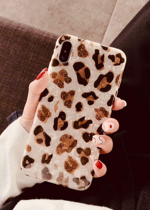 Brown Leopard iPhone Case/Cover - Monograms By Kim Boutique & Gifts