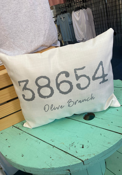38654 Olive Branch Pillow