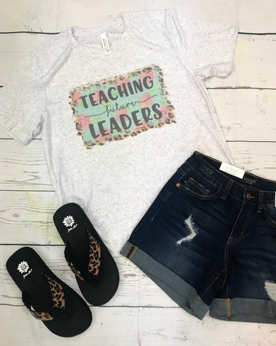 Teaching Future Leaders Graphic Tee - Monograms By Kim Boutique & Gifts
