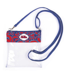 Game Day Crossbody Bag - Ole Miss - Monograms By Kim Boutique & Gifts
