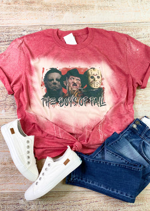 Boys of Fall Bleached Graphic Tee