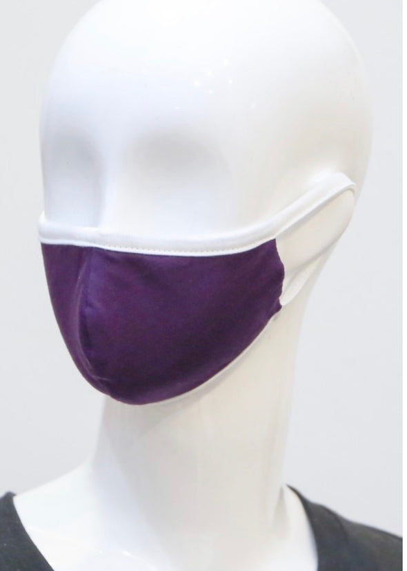 Youth Protective Face Mask - Eggplant