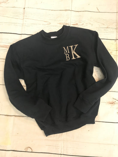 Infant/Toddler Monogrammed Sweatshirt - Monograms By Kim Boutique & Gifts