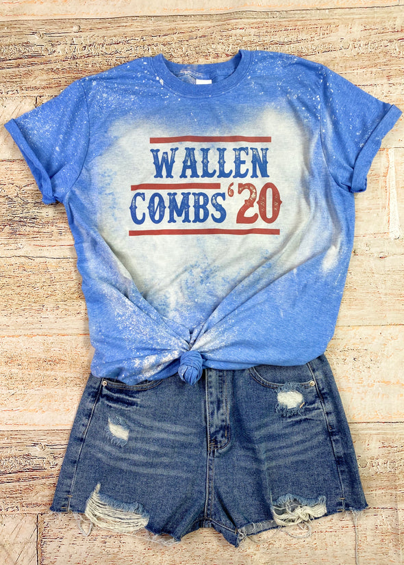 Wallen Combs 20 Graphic Tee