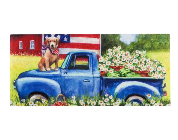 Patriotic Pup Sassafras Switch Mat