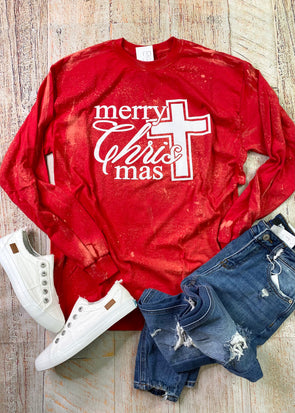 Merry Christ Mas Long Sleeve Tee