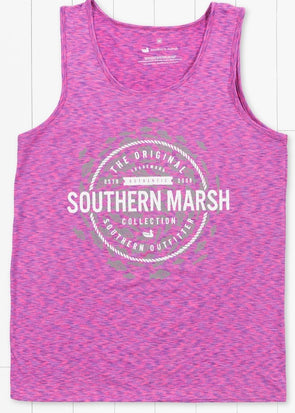 Southern Marsh School's Out Forever Tank-Pink & Purple