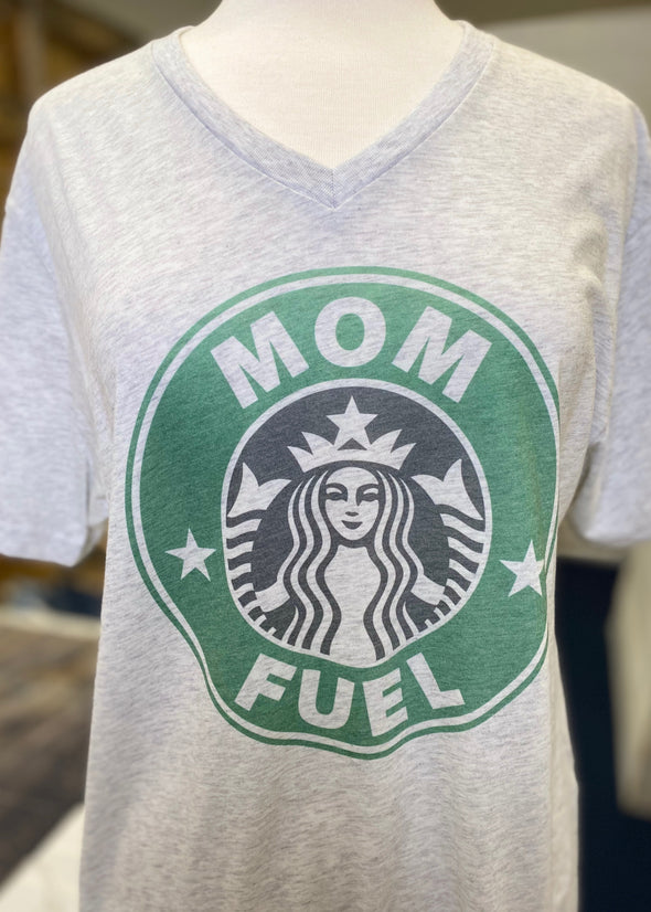 Mom Fuel Graphic Tee - Monograms By Kim Boutique & Gifts