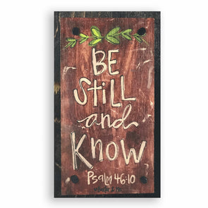 Be Still & Know Happy Block - Monograms By Kim Boutique & Gifts