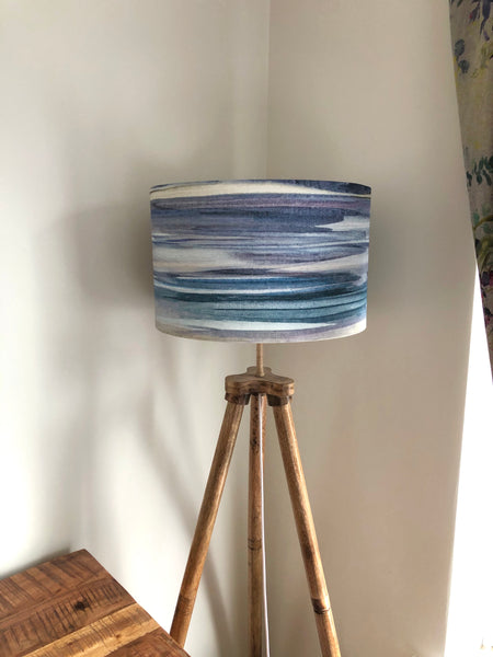 Seascape Lampshade: Watercolour  (40cm)