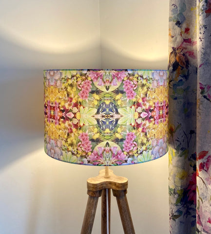 Colourful Floral Lampshade (40cm)