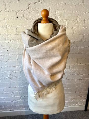 Super Soft Brushed Cotton Wrap Scarf