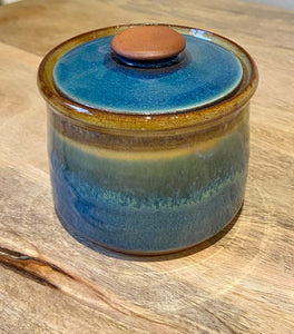 Beach Vibes Trinket Pot - Handmade