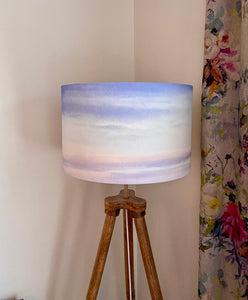 Skyscape Lampshade: Watercolour  (40cm)