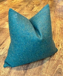 Limited Edition Green Harris Tweed Orb Cushion 18""
