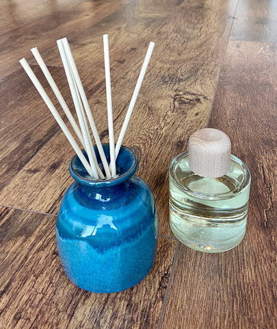 Aromatherapy Reed Diffuser - Green