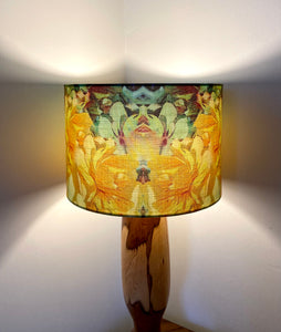 Yellow Flowers Lampshade (30cm)