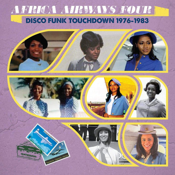 Various Artists - Africa Airways Four (Disco Funk Touchdown '76-'83)