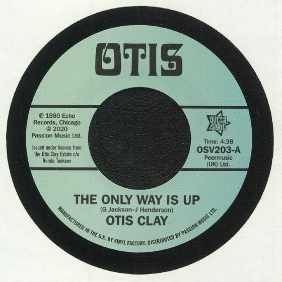 Otis Clay - The Only Way Is Up / Messing With My Mind