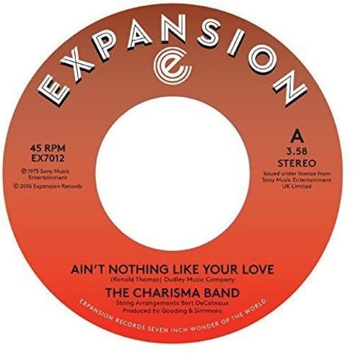 Charisma Band - Ain't Nothing Like Your Love