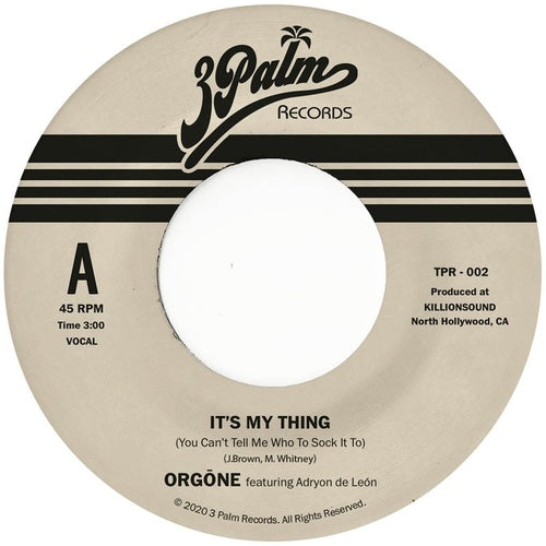 Orgone - It's My Thing (You Can't Tell Me Who To Sock It To) (Coloured Vinyl)