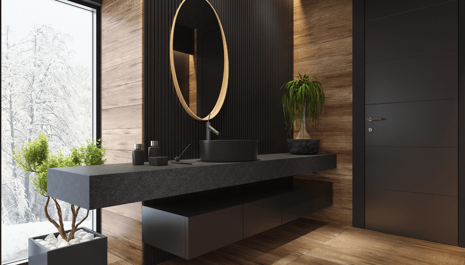 7 Unique Ways to Incorporate Black into Your Bathroom (Let these dark schemes inspire you!)