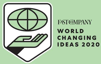 Nasoni's Fountain Faucet is a Fast Company 2020 World Changing Ideas Finalist Award Winner