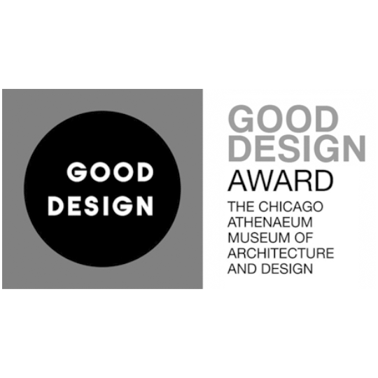 Good Design Award Grayscale Logo