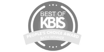 Best of KBIS Grayscale Logo