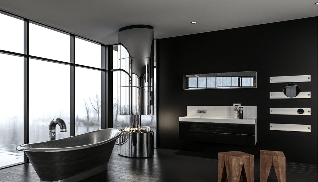 Black Master Bathrooms Can Be Magical