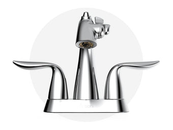 4 inch Centerset Fountain Faucet Polished Chrome