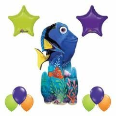 Finding Dory 55 inch Airwalker Balloon 9pc Party Decorations