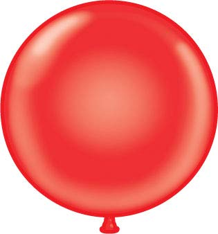 72 inch Red Giant Latex Balloon - Qty 2