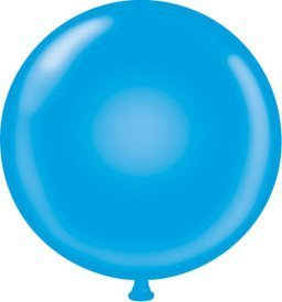 72 inch Blue Giant Latex Balloon - Qty 1