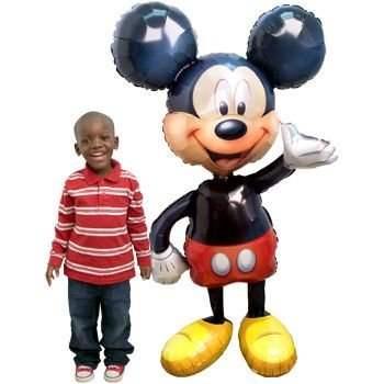 Mickey Airwalker Balloon (each) - Party Supplies