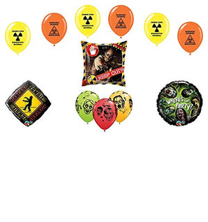 Mayflower Products Zombies Party Supplies The Walking Dead Theme Balloon Bouquet Decorations
