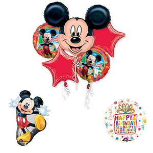 The Ultimate Mickey Mouse Birthday Party Supplies and Balloon Decorations