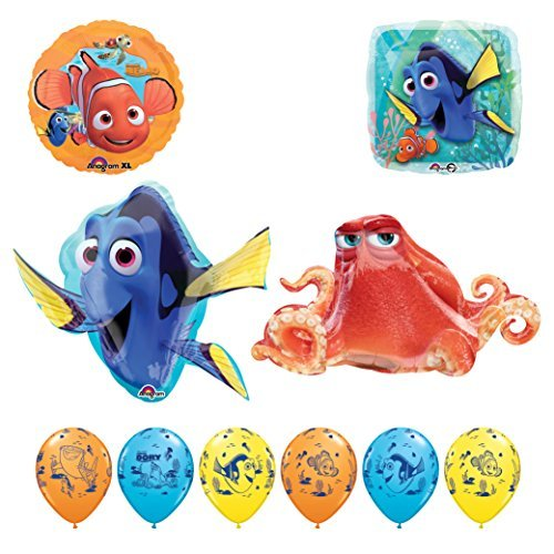 Finding Dory and Hank Birthday Party Balloon supplies decorations